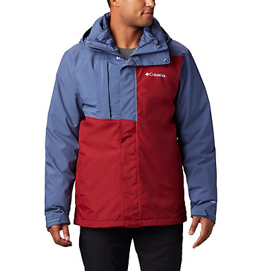Men's Tolt Track™ Interchange Jacket Tolt Track™ Interchange Jacket | 478 | XL, Dark Mountain, Red Jasper, front