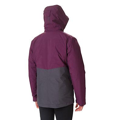 Men's Tolt Track Interchange Jacket Tolt Track™ Interchange Jacket | 522 | S, Black Cherry, Shark, back