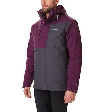 Chaqueta Tolt Track Interchange para hombre Tolt Track™ Interchange Jacket | 478 | S, Black Cherry, Shark, front