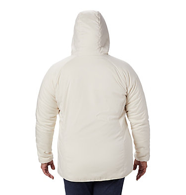 Women's Kruser Ridge™ II Plush Softshell Jacket - Plus Size Kruser Ridge™ II Plush Softshell Jacket | 191 | 1X, Chalk, back