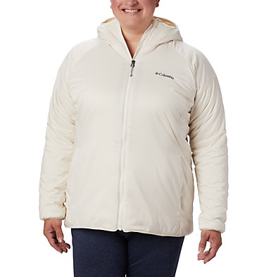 Women's Kruser Ridge™ II Plush Softshell Jacket - Plus Size Kruser Ridge™ II Plush Softshell Jacket | 618 | 2X, Chalk, front