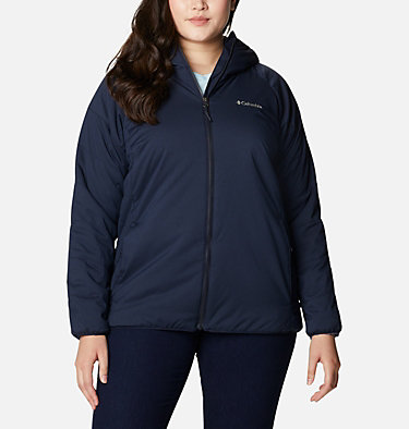 Women's Kruser Ridge™ II Plush Softshell Jacket - Plus Size Kruser Ridge™ II Plush Softshell Jacket | 191 | 1X, Dark Nocturnal, front