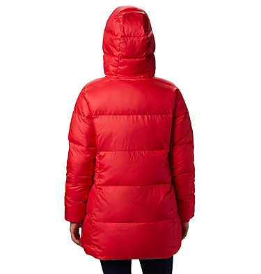Puffect™ Mid Hooded Jacket Puffect™ Mid Hooded Jacket | 658 | L, Red Lily, back