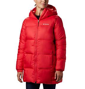 Manteau mi-long à capuchon Puffect™ pour femme