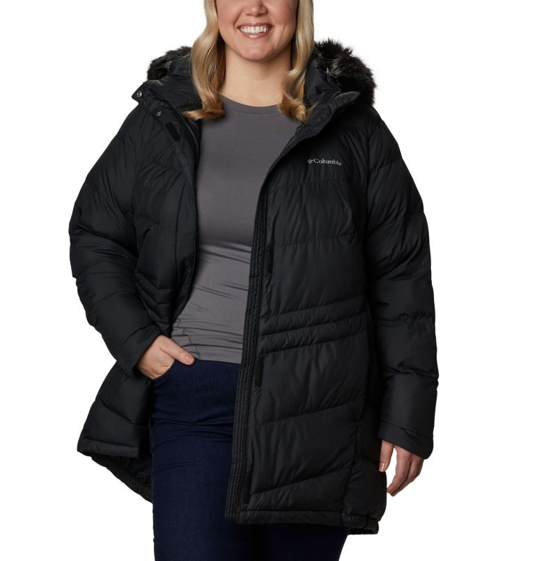 Peak to Park™ Mid Insulated Jacket | 010 | 3X Women's Peak to Park™ Mid Insulated Jacket - Plus Size, Black, front