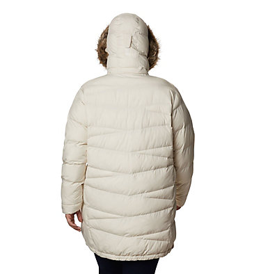 Women's Peak to Park™ Mid Insulated Jacket - Plus Size Peak to Park™ Mid Insulated Jacket | 671 | 3X, Chalk, back
