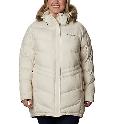 Women's Peak to Park™ Mid Insulated Jacket - Plus Size Peak to Park™ Mid Insulated Jacket | 671 | 3X, Chalk, front