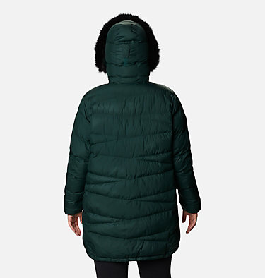 Women's Peak to Park™ Mid Insulated Jacket - Plus Size Peak to Park™ Mid Insulated Jacket | 671 | 3X, Spruce, back