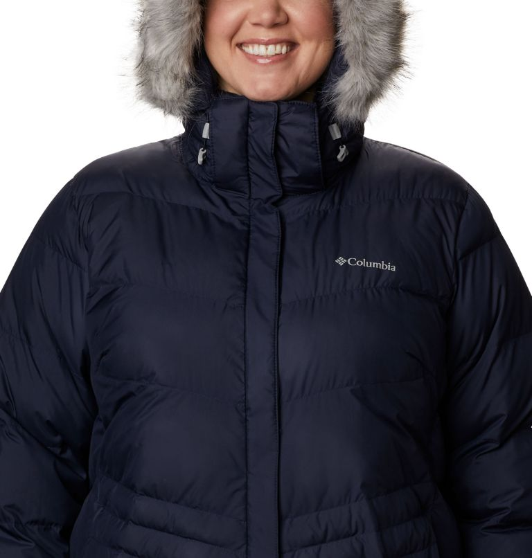 Peak to Park™ Mid Insulated Jacket | 472 | 2X Women's Peak to Park™ Mid Insulated Jacket - Plus Size, Dark Nocturnal, a2