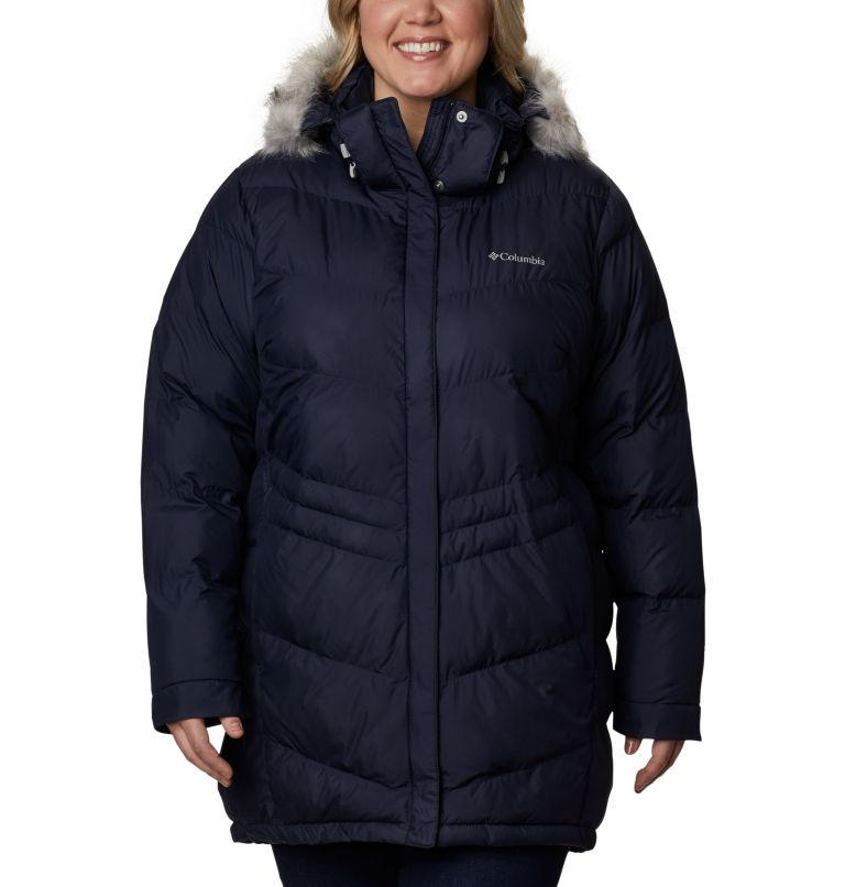 Peak to Park™ Mid Insulated Jacket | 472 | 2X Women's Peak to Park™ Mid Insulated Jacket - Plus Size, Dark Nocturnal, front