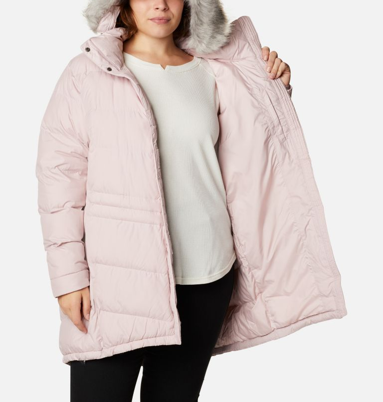 Peak to Park™ Mid Insulated Jacket   618   2X Women's Peak to Park™ Mid Insulated Jacket - Plus Size, Mineral Pink, a3