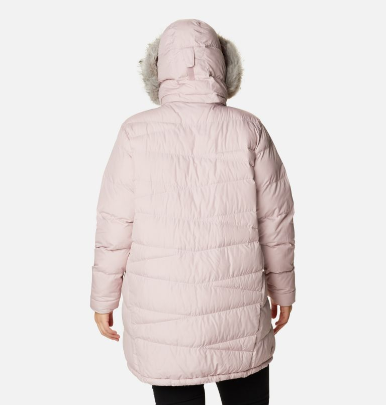 Peak to Park™ Mid Insulated Jacket   618   2X Women's Peak to Park™ Mid Insulated Jacket - Plus Size, Mineral Pink, back