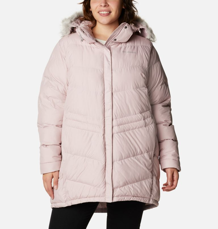 Peak to Park™ Mid Insulated Jacket   618   2X Women's Peak to Park™ Mid Insulated Jacket - Plus Size, Mineral Pink, front