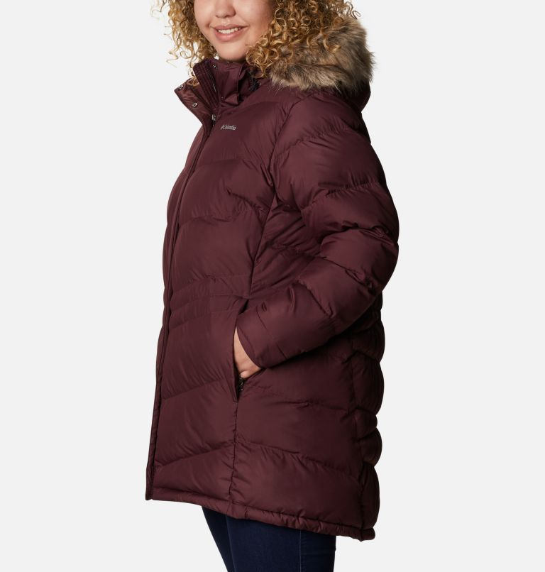 Peak to Park™ Mid Insulated Jacket | 671 | 2X Women's Peak to Park™ Mid Insulated Jacket - Plus Size, Malbec, a1