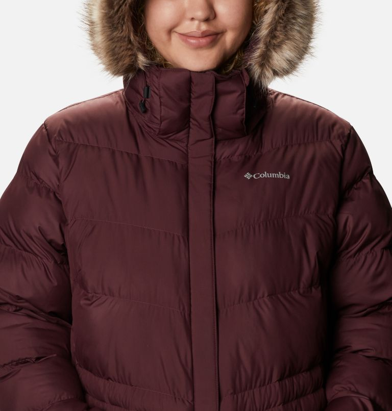 Peak to Park™ Mid Insulated Jacket | 671 | 2X Women's Peak to Park™ Mid Insulated Jacket - Plus Size, Malbec, a2