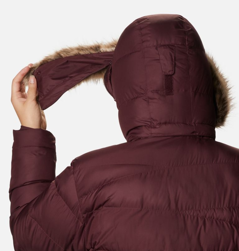 Peak to Park™ Mid Insulated Jacket | 671 | 2X Women's Peak to Park™ Mid Insulated Jacket - Plus Size, Malbec, a4