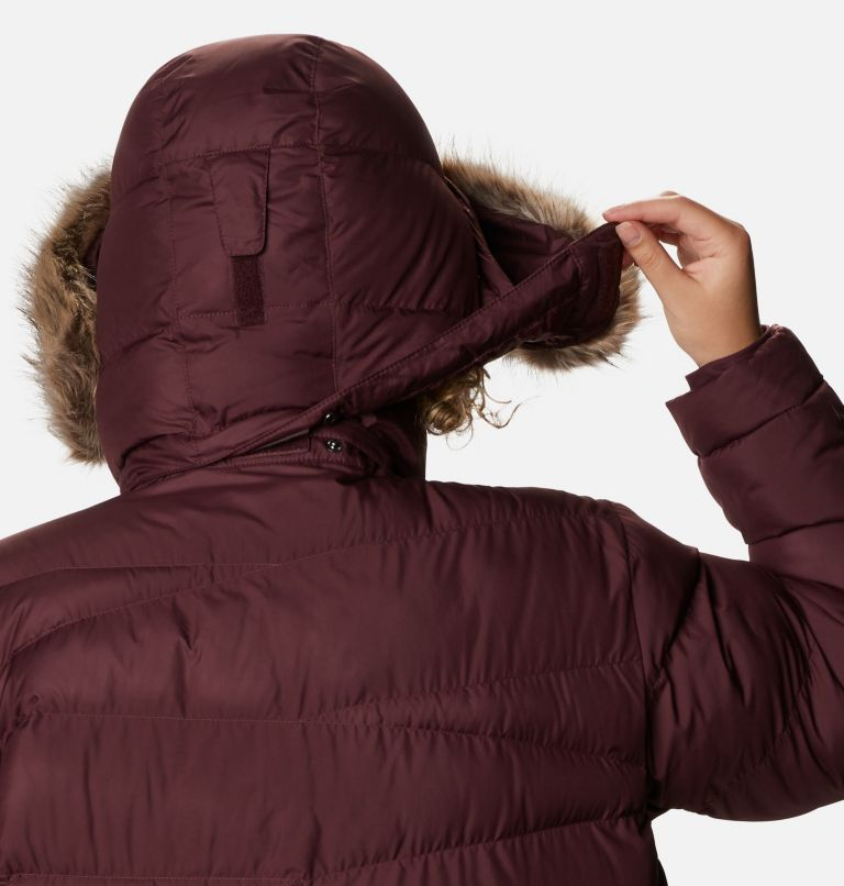 Peak to Park™ Mid Insulated Jacket | 671 | 1X Women's Peak to Park™ Mid Insulated Jacket - Plus Size, Malbec, a5