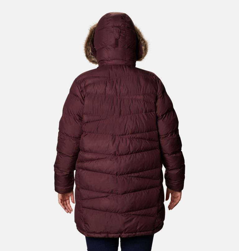 Peak to Park™ Mid Insulated Jacket | 671 | 2X Women's Peak to Park™ Mid Insulated Jacket - Plus Size, Malbec, back