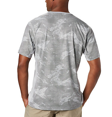 Men's Solar Chill™ 2.0 Short Sleeve Solar Chill™ 2.0 Short Sleeve | 160 | L, Columbia Grey Mesh Print, back