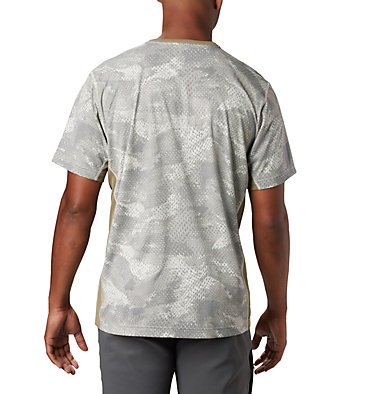 Men's Solar Chill™ 2.0 Short Sleeve Solar Chill™ 2.0 Short Sleeve | 160 | L, Fossil Mesh Print, back
