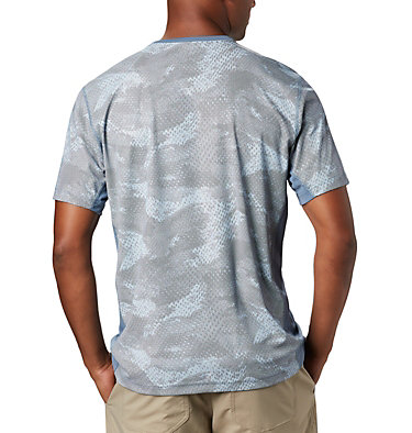 Men's Solar Chill™ 2.0 Short Sleeve Solar Chill™ 2.0 Short Sleeve | 160 | L, Mountain Mesh Print, back
