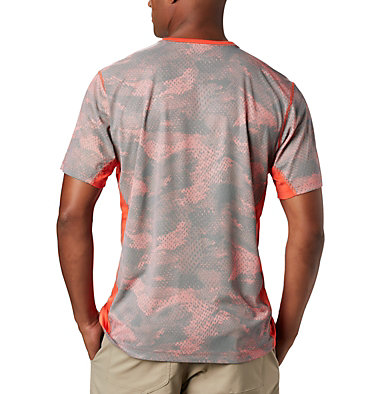 Men's Solar Chill™ 2.0 Short Sleeve Solar Chill™ 2.0 Short Sleeve | 160 | L, Wildfire Mesh Print, back