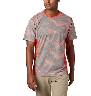 Men's Solar Chill™ 2.0 Short Sleeve Solar Chill™ 2.0 Short Sleeve | 160 | L, Wildfire Mesh Print, front