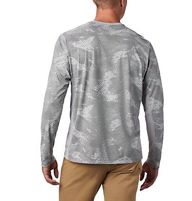 Men's Solar Chill™ 2.0 Long Sleeve Solar Chill™ 2.0 Long Sleeve | 845 | XL, Columbia Grey Mesh Print, back