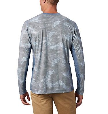 Men's Solar Chill™ 2.0 Long Sleeve Solar Chill™ 2.0 Long Sleeve | 845 | XL, Mountain Mesh Print, back