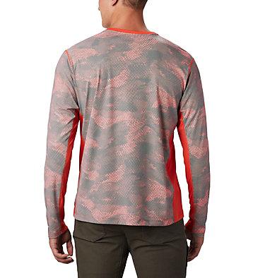 Men's Solar Chill™ 2.0 Long Sleeve Solar Chill™ 2.0 Long Sleeve | 845 | XL, Wildfire Mesh Print, back