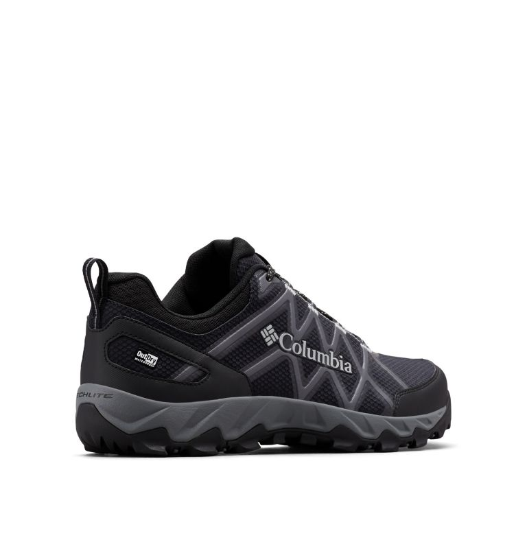 PEAKFREAK™ X2 OUTDRY™ | 010 | 14 Men's Peakfreak™ X2 OutDry™ Shoe, Black, Ti Grey Steel, 3/4 back