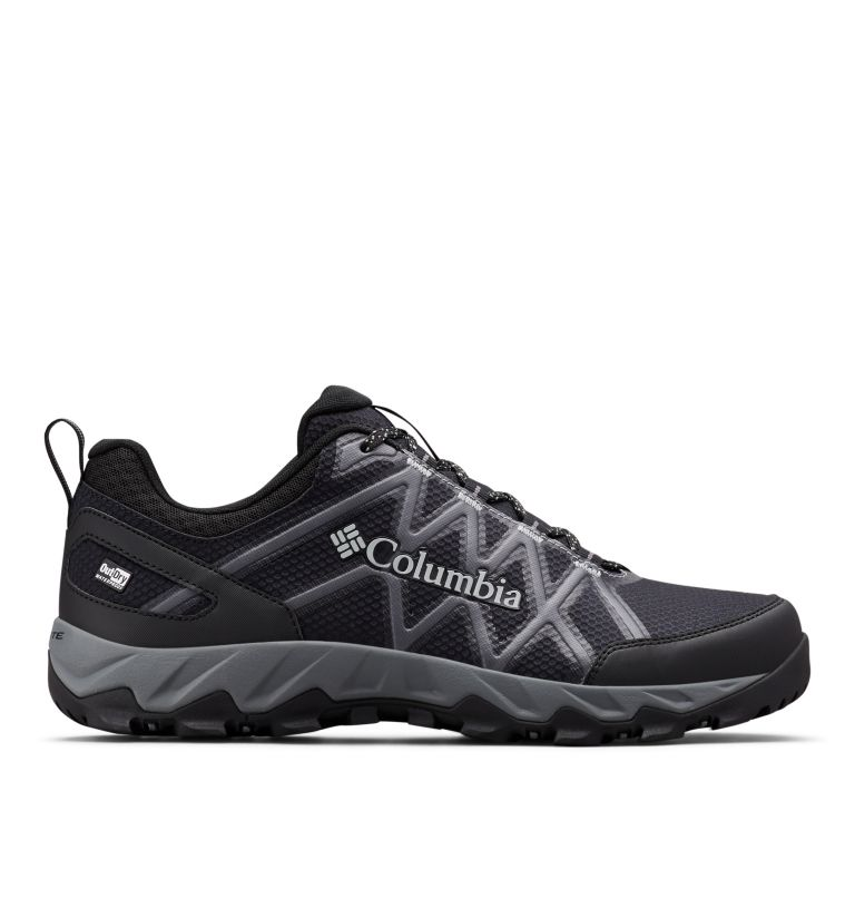 PEAKFREAK™ X2 OUTDRY™ | 010 | 14 Men's Peakfreak™ X2 OutDry™ Shoe, Black, Ti Grey Steel, front