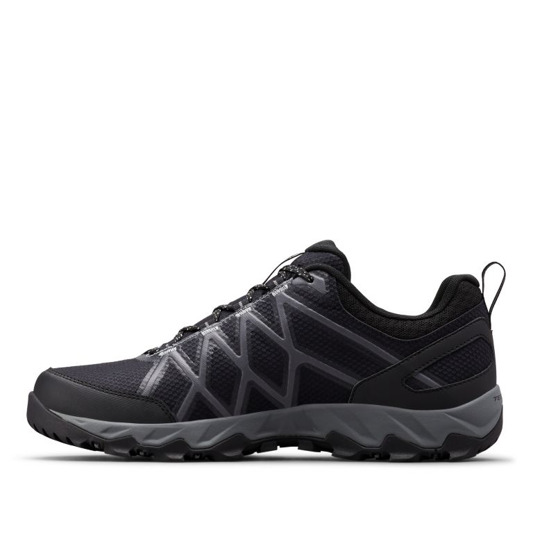 PEAKFREAK™ X2 OUTDRY™ | 010 | 14 Men's Peakfreak™ X2 OutDry™ Shoe, Black, Ti Grey Steel, medial
