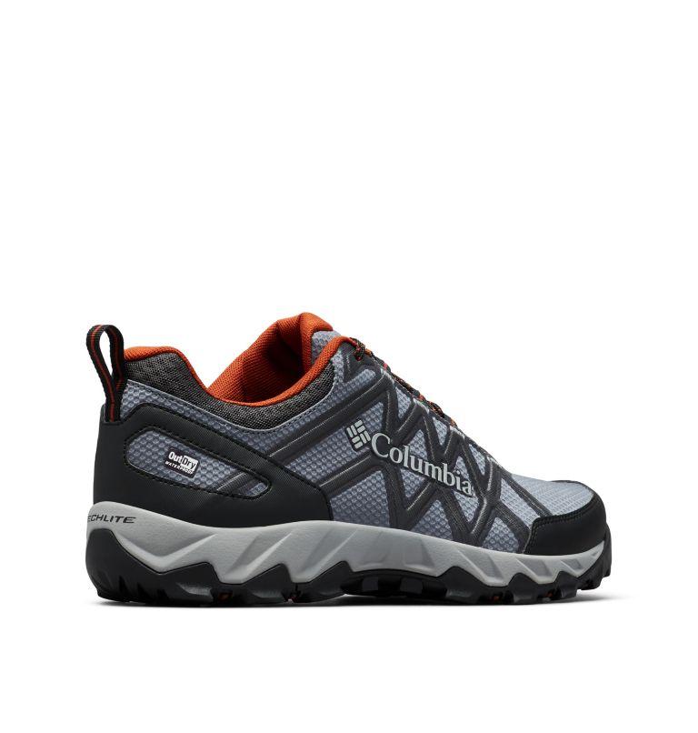 PEAKFREAK™ X2 OUTDRY™ | 053 | 11 Men's Peakfreak™ X2 OutDry™ Shoe, Graphite, Dark Adobe, 3/4 back