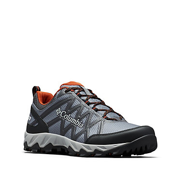 Men's Peakfreak X2 OutDry™ Shoe PEAKFREAK™ X2 OUTDRY™ | 012 | 7, Graphite, Dark Adobe, 3/4 front