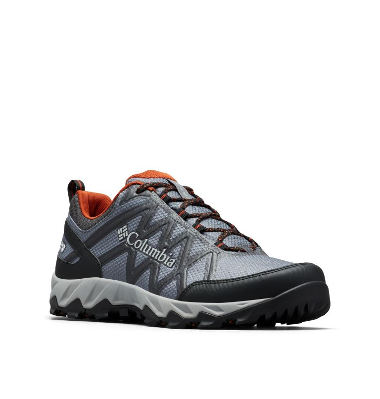PEAKFREAK™ X2 OUTDRY™ | 053 | 11 Men's Peakfreak™ X2 OutDry™ Shoe, Graphite, Dark Adobe, 3/4 front