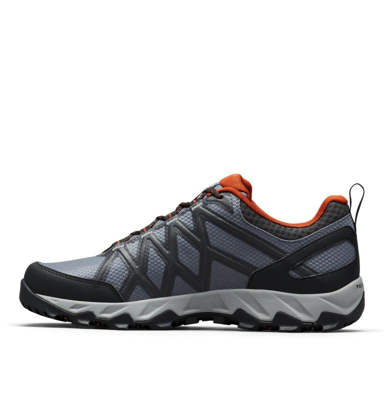 PEAKFREAK™ X2 OUTDRY™ | 053 | 11 Men's Peakfreak™ X2 OutDry™ Shoe, Graphite, Dark Adobe, medial