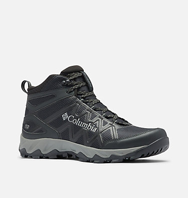 Men's Peakfreak X2 Mid OutDry™ Boot PEAKFREAK™ X2 MID OUTDRY™ | 012 | 7, Black, Dark Pewter, 3/4 front