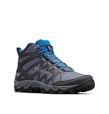 Men's Peakfreak™ X2 Mid OutDry™ Hiking Boot PEAKFREAK™ X2 MID OUTDRY™ | 012 | 7, Graphite, Blue Jay, 3/4 front