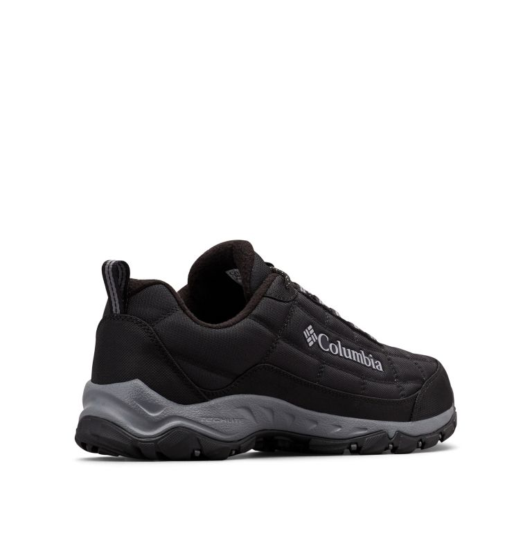 FIRECAMP™ FLEECE III | 010 | 8.5 Men's Firecamp™ Fleece Lined Shoe, Black, Ti Grey Steel, 3/4 back
