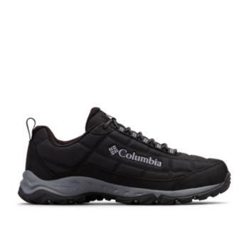 Columbia Men's Firecamp Fleece Lined Shoe (Black / Ti Grey Steel)