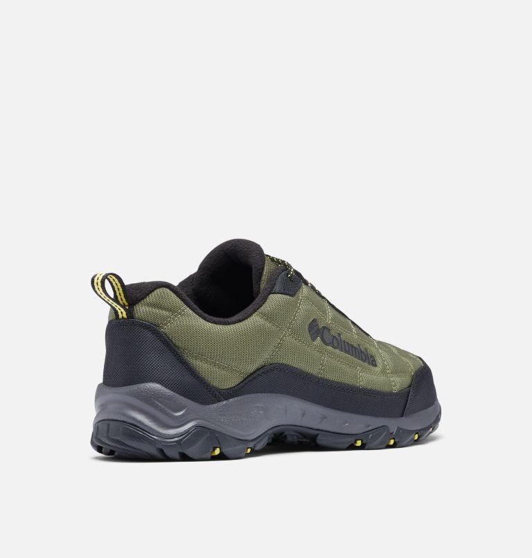 FIRECAMP™ FLEECE III | 371 | 9 Men's Firecamp™ Fleece Lined Shoe, Hiker Green, Mineral Yellow, 3/4 back