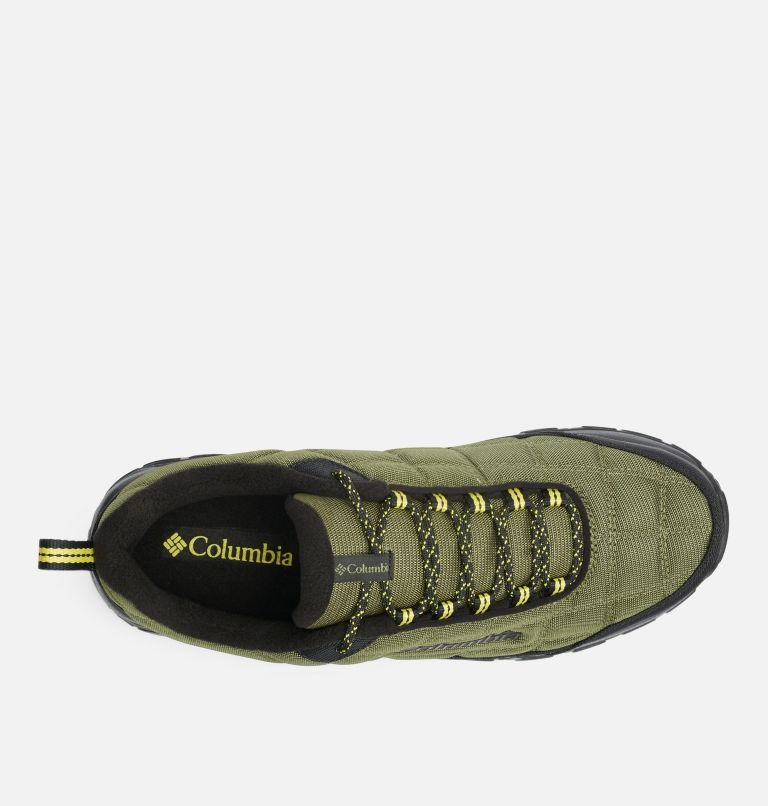 FIRECAMP™ FLEECE III | 371 | 9 Men's Firecamp™ Fleece Lined Shoe, Hiker Green, Mineral Yellow, top
