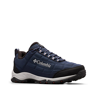 Men's Firecamp™ Fleece Lined Shoe FIRECAMP™ FLEECE III | 010 | 10, Collegiate Navy, Red Jasper, 3/4 front
