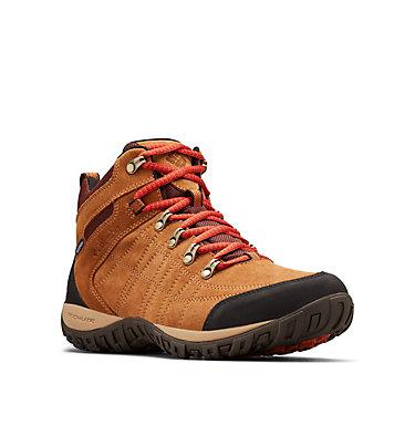 Men's Peakfreak™ Venture Suede II Mid Waterproof Shoe , 3/4 front