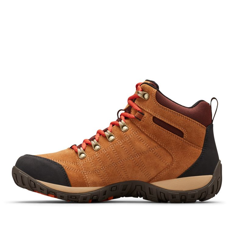 Men's Peakfreak™ Venture Suede II Mid Waterproof Shoe Men's Peakfreak™ Venture Suede II Mid Waterproof Shoe, medial