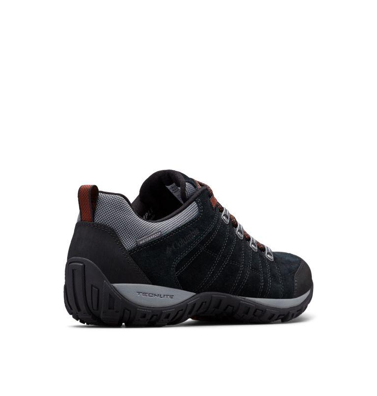 PEAKFREAK™ VENTURE S II WP | 010 | 12 Chaussure Imperméable En Suédine Peakfreak™ Venture II Homme, Black, Dark Adobe, 3/4 back