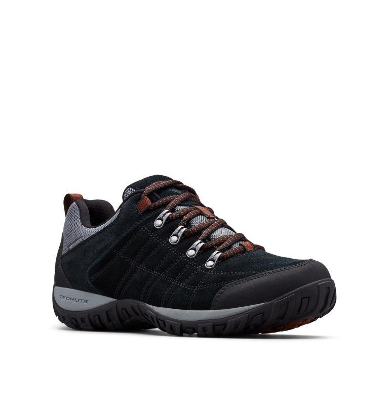 PEAKFREAK™ VENTURE S II WP | 010 | 12 Chaussure Imperméable En Suédine Peakfreak™ Venture II Homme, Black, Dark Adobe, 3/4 front