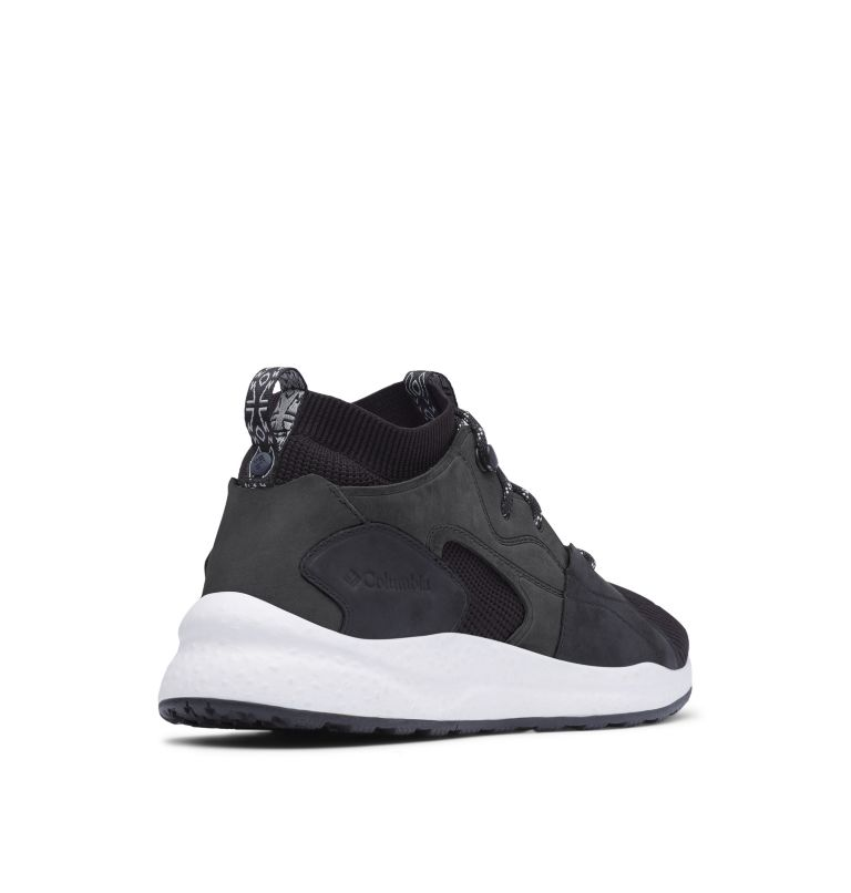 SH/FT™ OUTDRY™ MID | 012 | 8.5 Men's SH/FT™ OutDry™ Mid Shoe, Black, Monument, 3/4 back