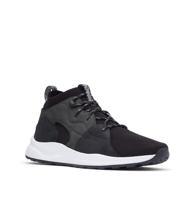 SH/FT™ OUTDRY™ MID | 012 | 8 Men's SH/FT™ OutDry™ Mid Shoe, Black, Monument, 3/4 front